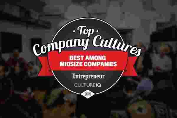 The 25 Best Medium-Sized Company Cultures in 2015